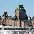 Chateau frontenac - quebec - canada