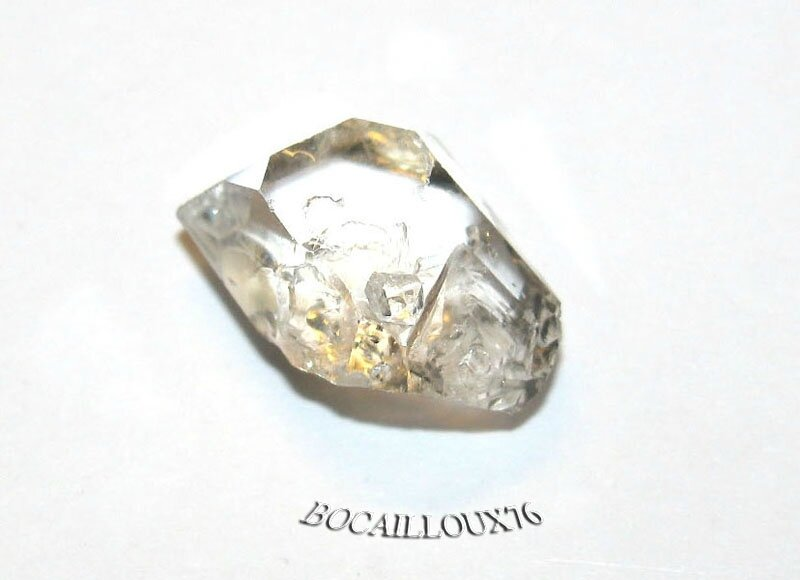 QUARTZ Diamant d'Herkimer 2 Naturel
