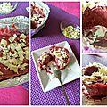 Sorbet aux cerises burlat, pain d'épices, copeaux de chocolat blanc made in isa