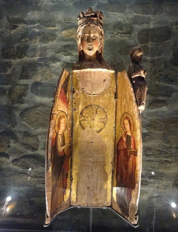 Vierge ouvrante église st André - Massiac