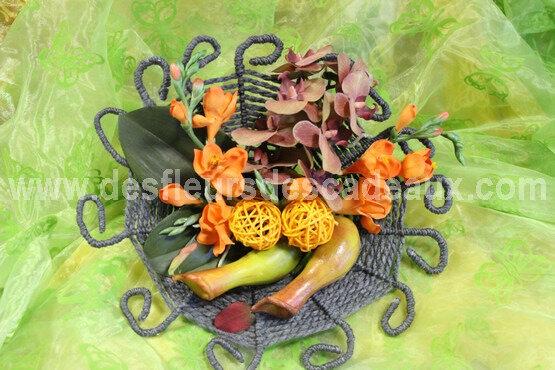 bouquet de mariée fleurs artificielles (5)