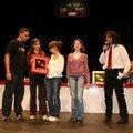 L'équipe d'Einstein reçoit le trophée du Fair Play