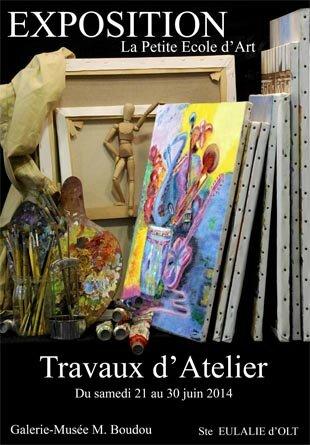 Exposition Petite Ecole Art