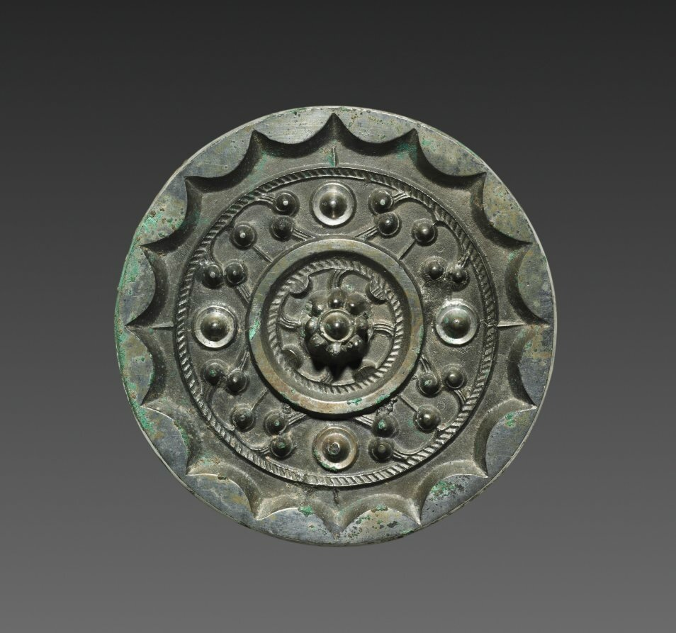 Mirror with Clouds and Nebulae, 200-100 BC, China, Western Han dynasty (202 BC-AD 9)