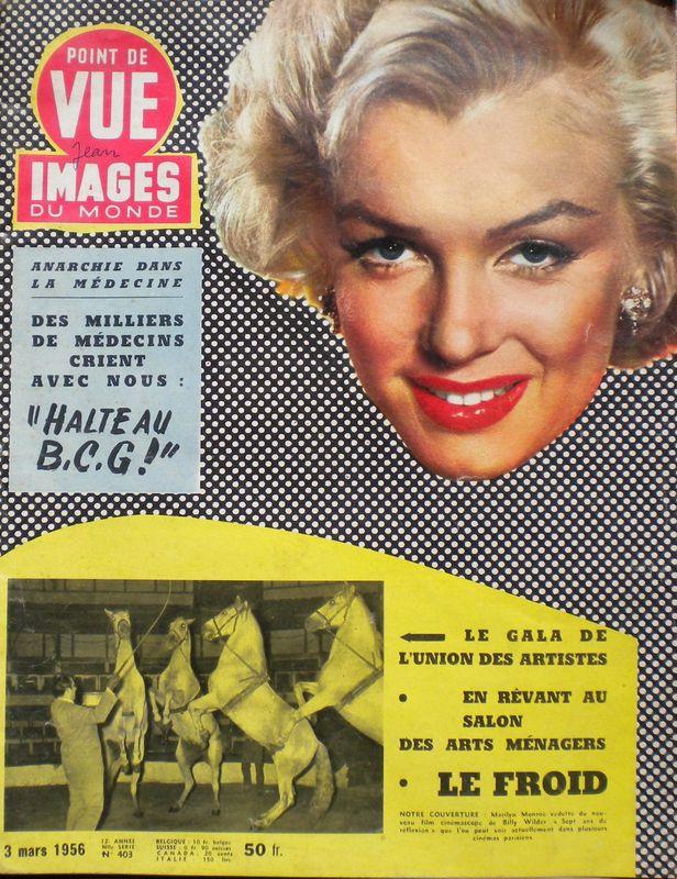 Pt de vue image du monde 1956
