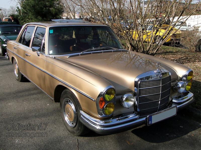 Mercedes- benz 280 SE W108 1968-1972-01