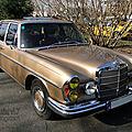 Mercedes-benz 280 se w108 1968-1972