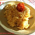 Risotto poulet chorizo, version tmx