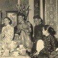Mariage de mes parents dans la maison de culte des Truong