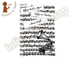 fond musique 14x10cm