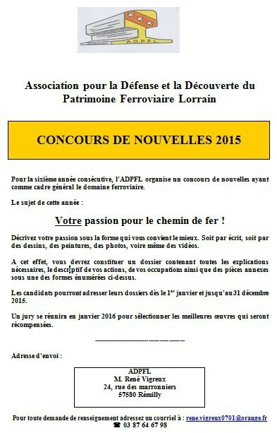 ADPFLE CONCOURS 2015