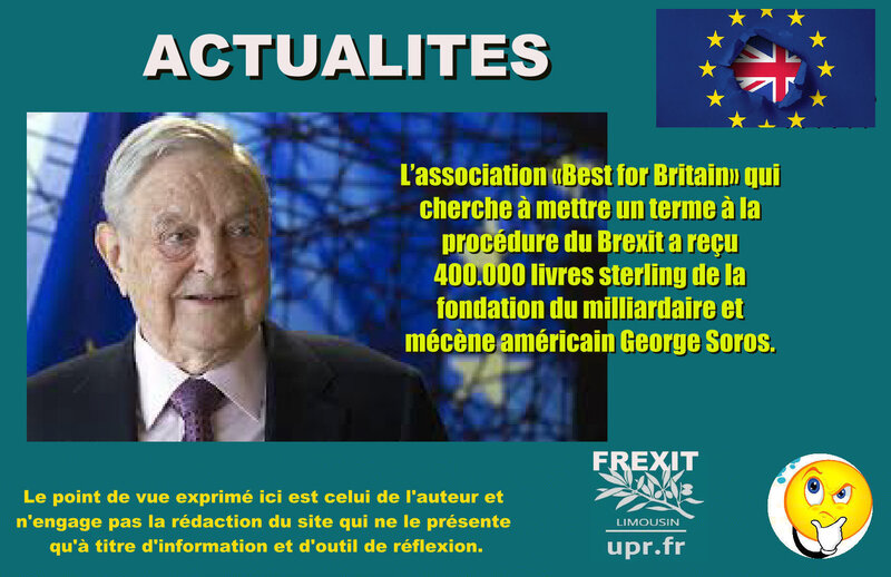 ACT SOROS FRIC BREXIT
