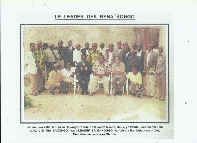 LE LEADER DES BENA KONGO