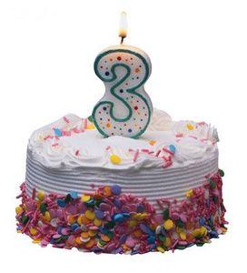3-Year-Cake