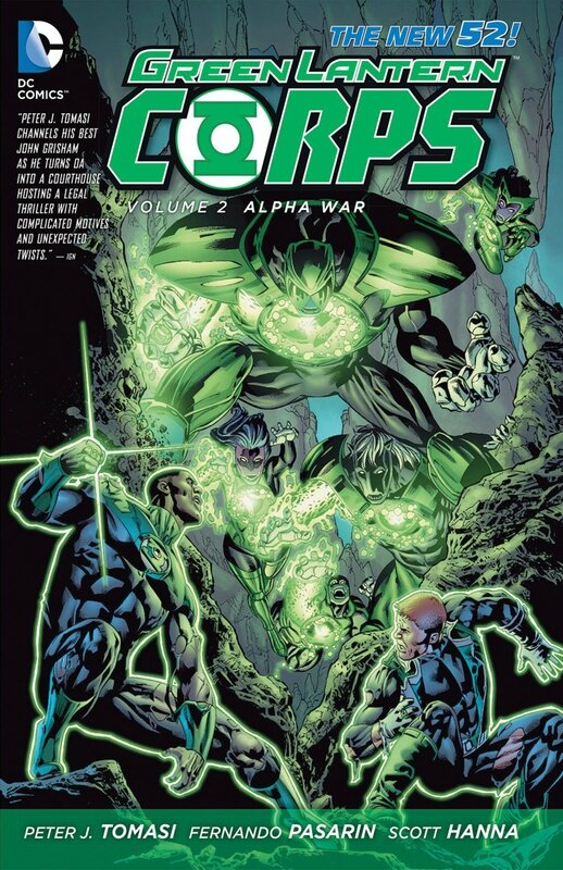 green lantern corps vol 2 alpha war TP