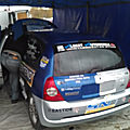 Thierry beautes/Stephan teulieres Renault clio rs fa7