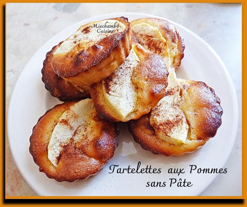 Tartelettes aux pommes sans pâte