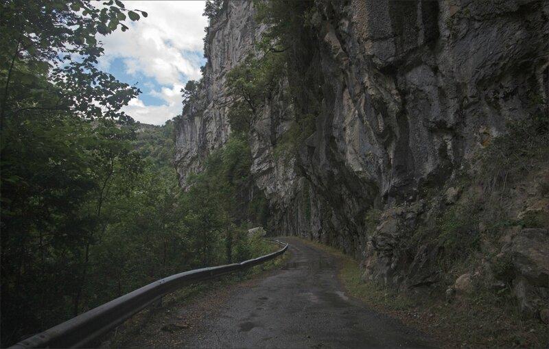 Haut Aragon 120615 Anisclo GA 37 route