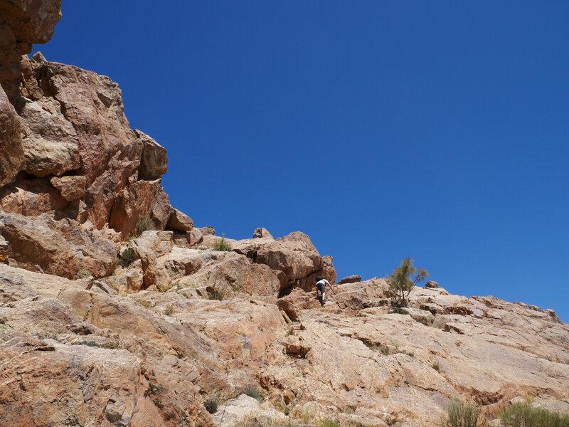 Azahrar, versant Est