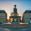 fontaine place de la bourse Bordeaux 2