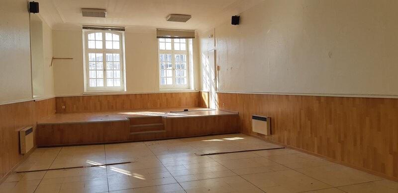 salle expo d'ancien tribunal à Martigues