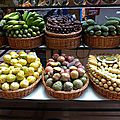 Funchal, fruits exotiques