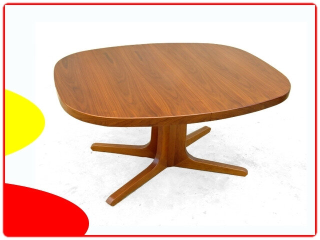Table danoise en teck scandinave vintage 1960