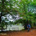 A vélo vers les étangs de châtonnay et semons(plaine de bièvre/isère)