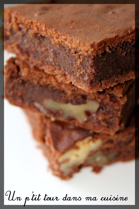 Brownie haricots rouges2
