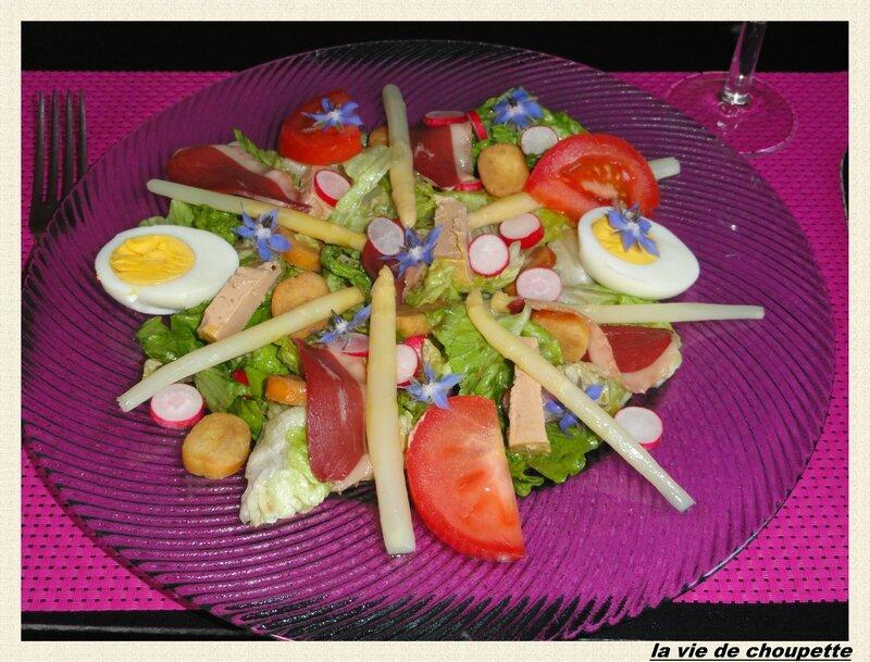 salade perigourdine à ma façon-9686