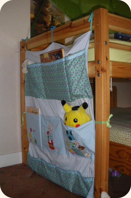 Rangement pour le lit