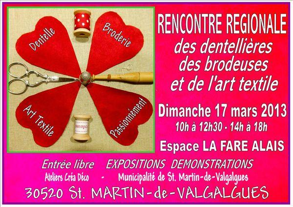 Rencontre Régionale 2013 Affiche 3