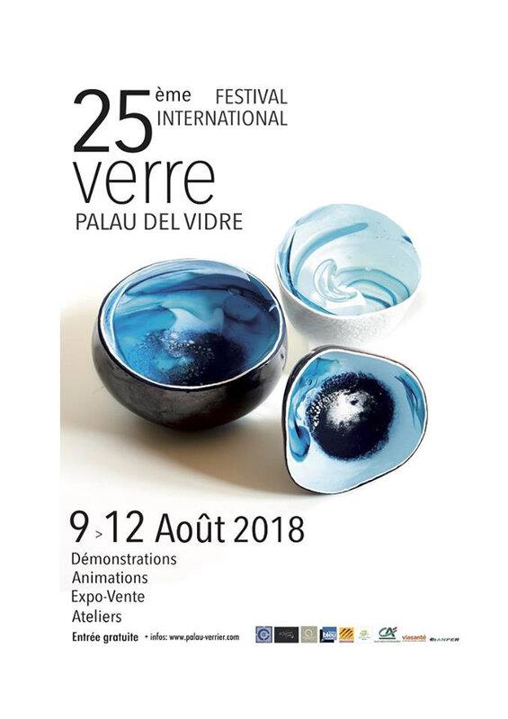 Festival du verre palau del vidre 2018