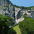 La cascade du staubbach