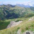 Pfälzerhütte - Malbun. en grimpant vers l'Augstenberg