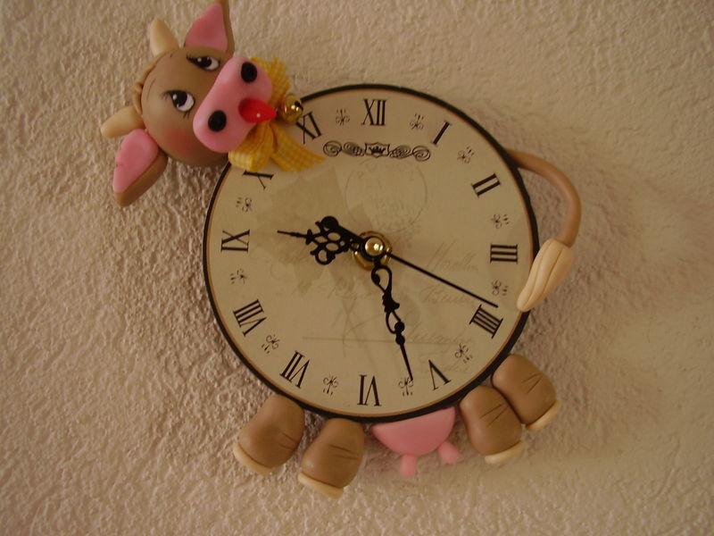 horloge vache