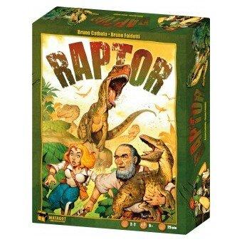 Boutique jeux de société - Pontivy - morbihan - ludis factory - Raptor