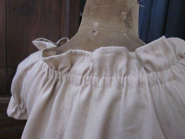 Robe ALBANE en lin beige (1)
