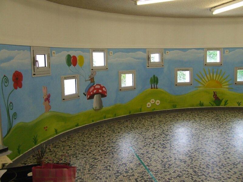salle de sieste école Saint Vincent Père Brottier à Blois