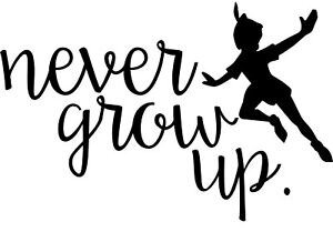 never grow up peter pan syndrome
