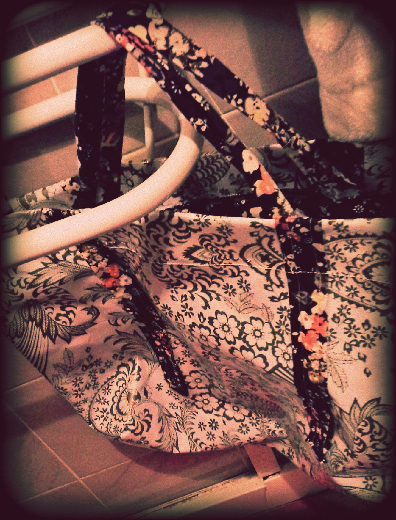 Mon sac de tricot cousu main