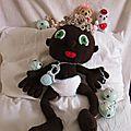 Bébé black au crochet