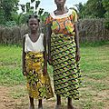 HOUESSOU Pierrette et sa maman