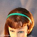 Serre tête vert b