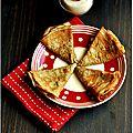 Crêpes au lait d'amandes et à la farine d'épeautre complète