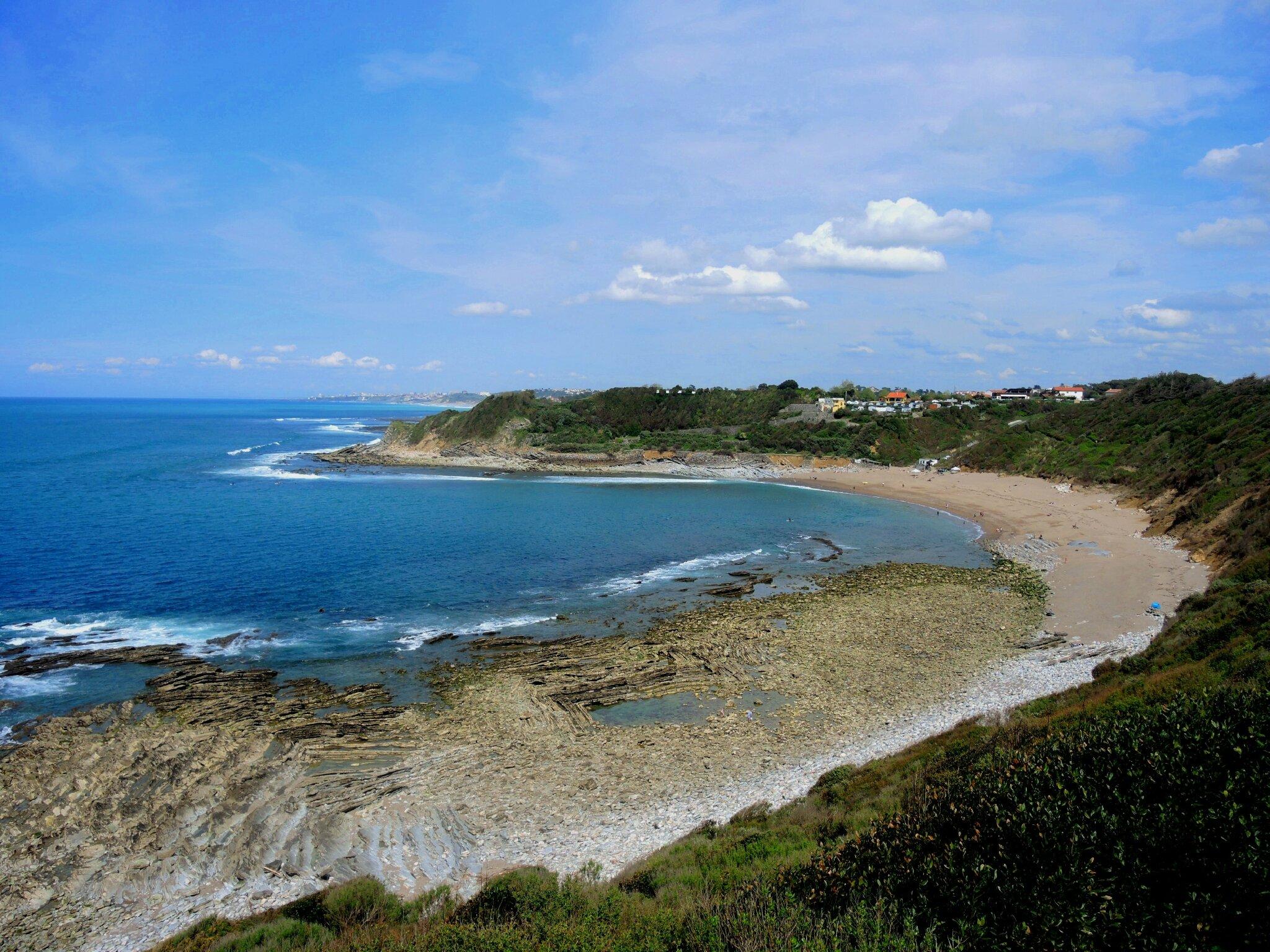 Saint-Jean-de-Luz, plage de Lafitenia (64)