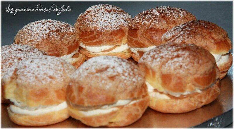couronne de choux vanille caramel 02