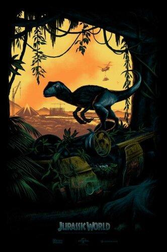 Jurassic World (affiche)