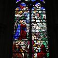 Les vitraux de l'église de châtillon-sur-loire - partie 2 : le choeur