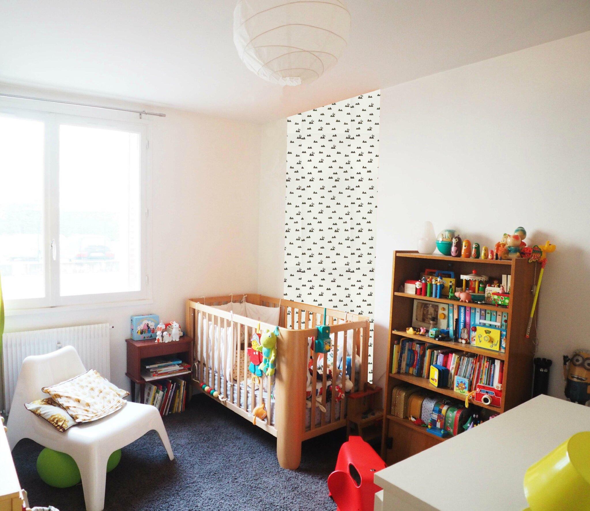Choisir du papier peint pour une chambre d 39 enfant ma - Papier peint pour chambre d enfant ...